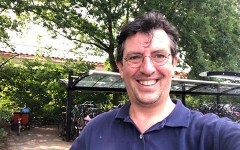 Selfie van Willem van Reijendam.