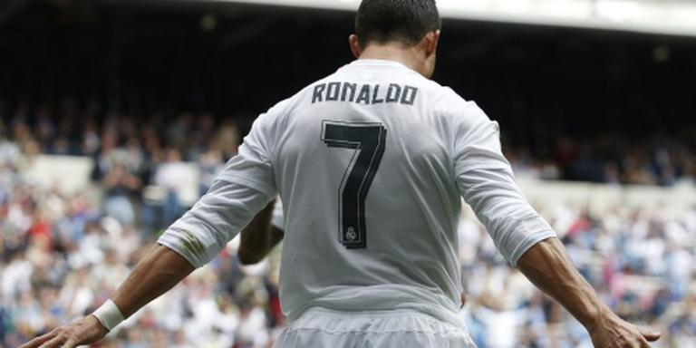 Real Madrid walst over Eibar heen