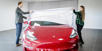 Tesla introduceert dit jaar enkele varianten van de Tesla Model 3 op de Nederlandse markt. Foto: ANP
