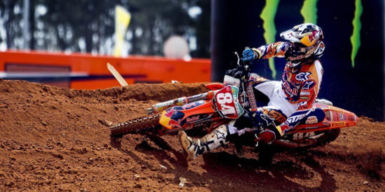 Motorcrosser Herlings breekt sleutelbeen
