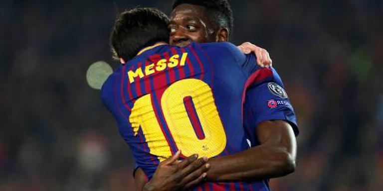 Barcelona als laatste club naar kwartfinales