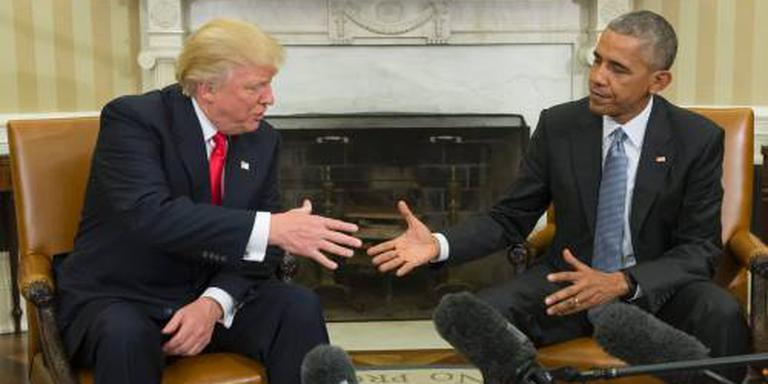 Obama: oordeel niet te snel over Trump