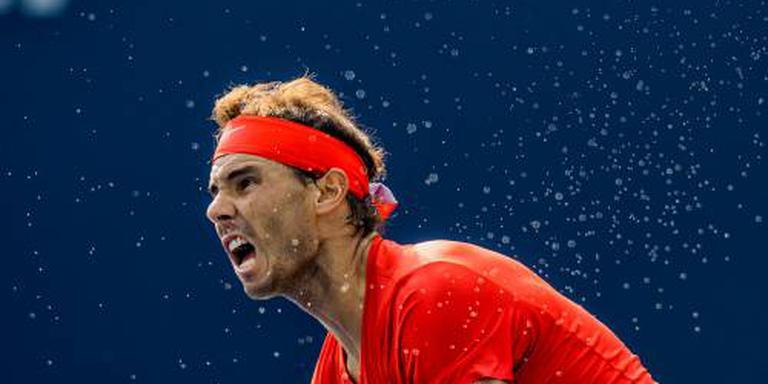 Nadal neemt rust in aanloop naar US Open