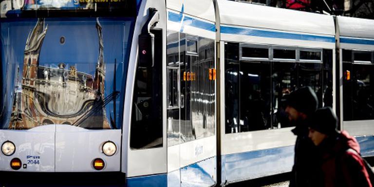 Pinautomaten in bus en tram in Amsterdam