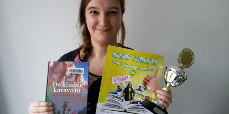 Ellen Visser beste voorlezer onder Pabo-studenten