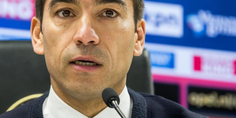 Van Bronckhorst: focus nu op bekerfinale
