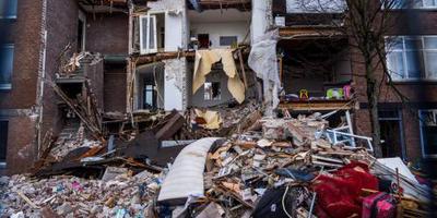 Gemeente sorteert puin van verwoeste huizen