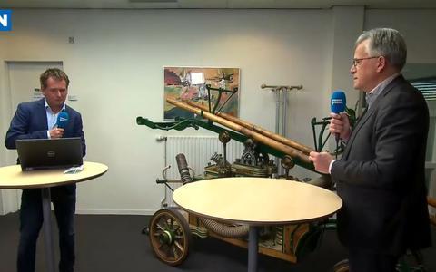 Voorzitter Koen Schuiling van de Veiligheidsregio Groningen keert zich in DVHN Live tegen corona-noodwet