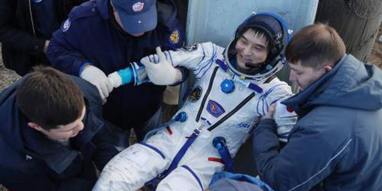 ISS-astronauten veilig terug op aarde