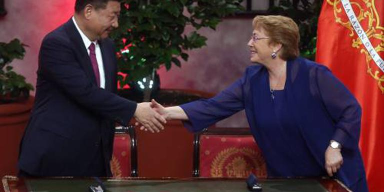 China grijpt kans die Trump laat liggen