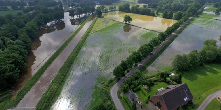 Waterpeil 'Duitse Oude IJssel' zakt