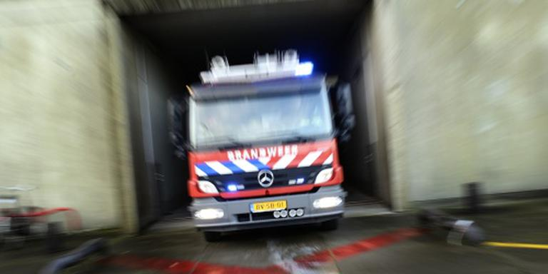 Supermarkt in Volendam verwoest door brand