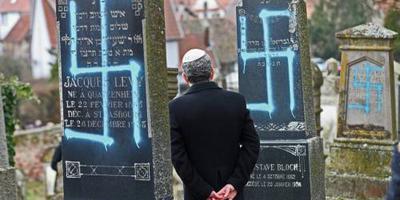 Tachtig joodse graven in Elzas beklad
