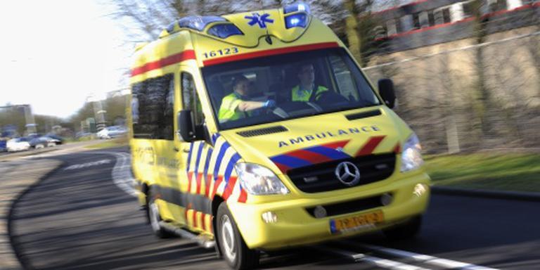 Vrouw gewond bij aanrijding in Haren.