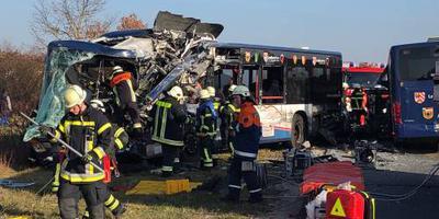 Zeker 40 gewonden door busongeval Duitsland