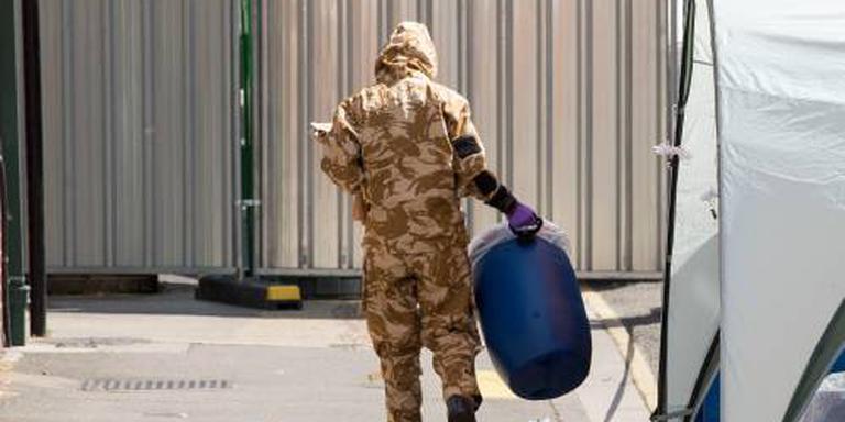 Britse politie vindt flesje met novitsjok