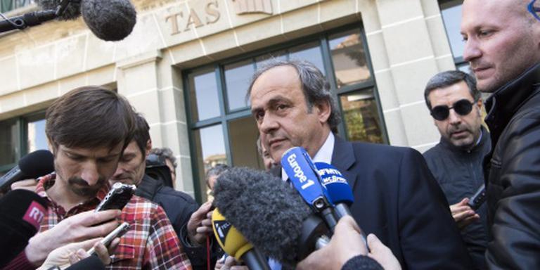 Michel Platini sneuvelt aan top voetbalwereld
