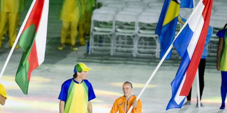 Wevers draagt Nederlandse vlag Maracanã in