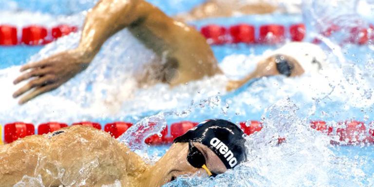 Estafettezwemmers naar finale 4x200 vrij