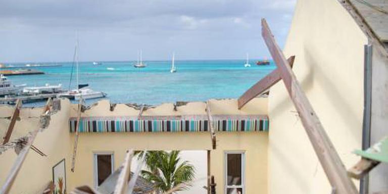 Wederopbouw Sint-Maarten van start