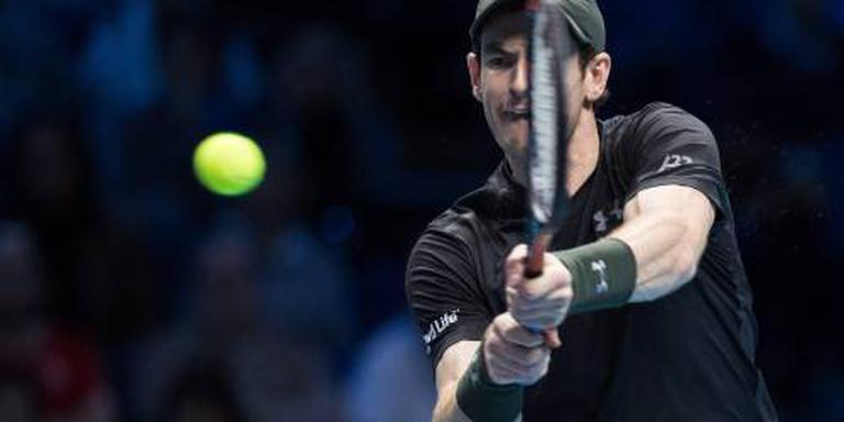 Murray naar halve finales Tour Finals
