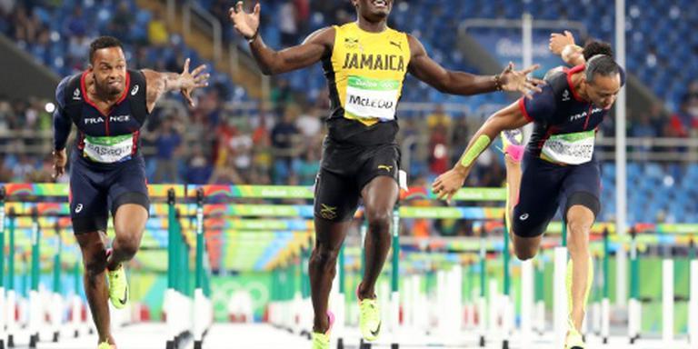 Jamaicaans goud op 110 meter horden