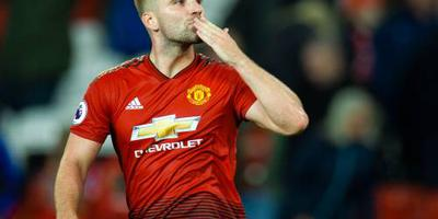 Shaw verlengt tot 2023 bij Manchester United