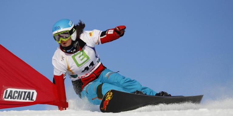 Dekker buiten snowboardfinale bij rentree