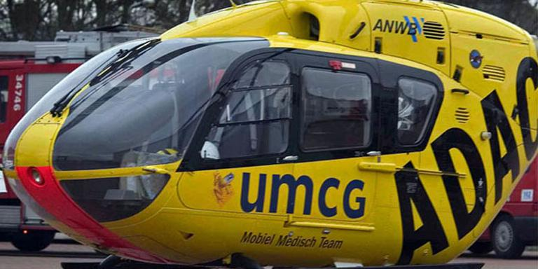 Traumahelikopter. FOTO ARCHIEF DVHN