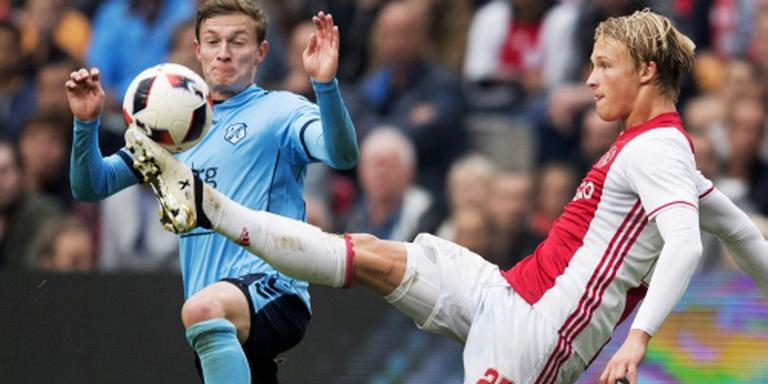 Dolberg met rugblessure terug naar Ajax