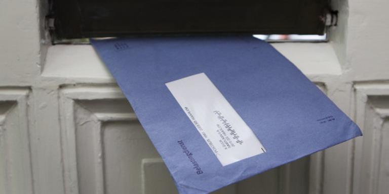 Blauwe envelop voor toeslagen blijft nog even