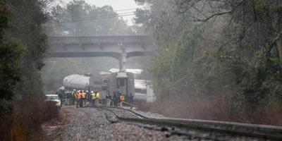 Amerikaans dorp geëvacueerd na ontsporen trein