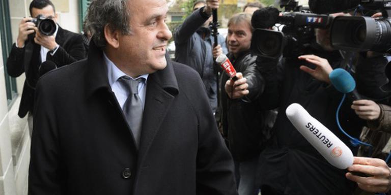 Franse minister achter Platini