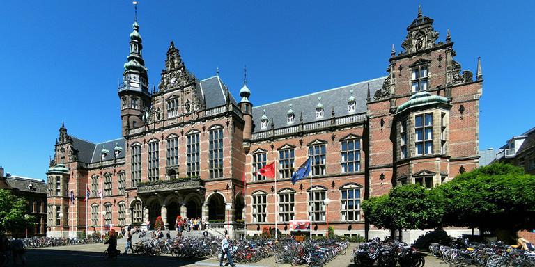 Het Academiegebouw van de RUG. FOTO ARCHIEF DVHN