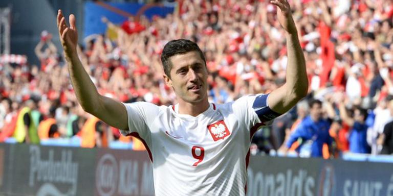 Polen wacht met smart op goals Lewandowski