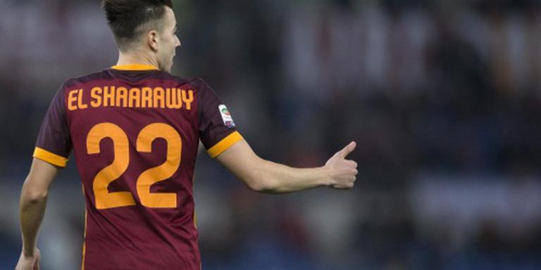 El Shaarawy belangrijk voor AS Roma