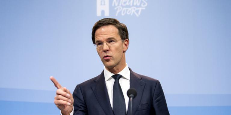 Rutte: snellere aanpak vluchtelingenstroom