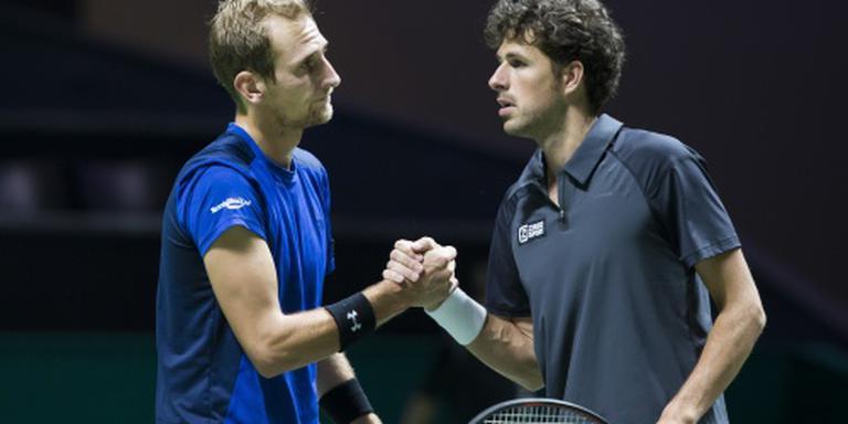 Daviscupteam met Haase en De Bakker
