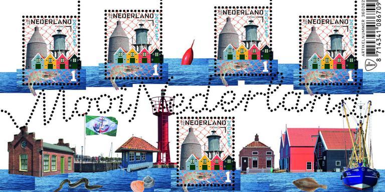 Zoutkamp heeft eigen postzegel