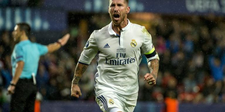 Europese Super Cup voor Real Madrid