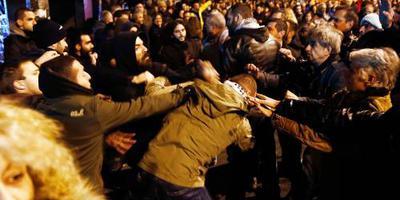 Rellen bij herdenking studentenopstand Athene