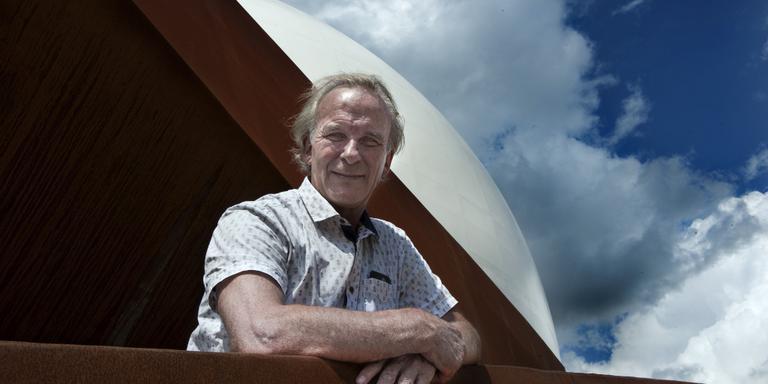 Professor Edwin A. Valentijn. Foto Archief/Peter Wassing