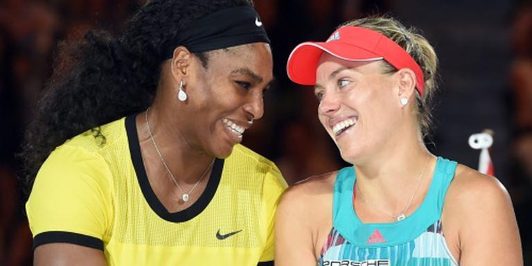 Ook Serena Williams niet naar Dubai