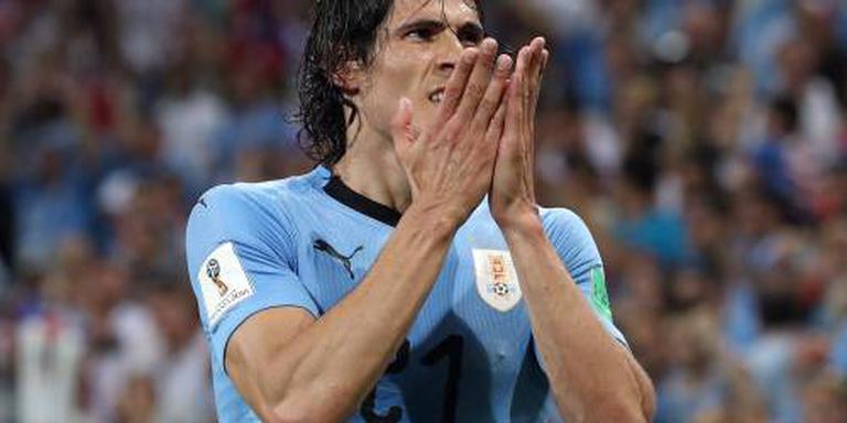 Uruguay zegt niks over Cavani