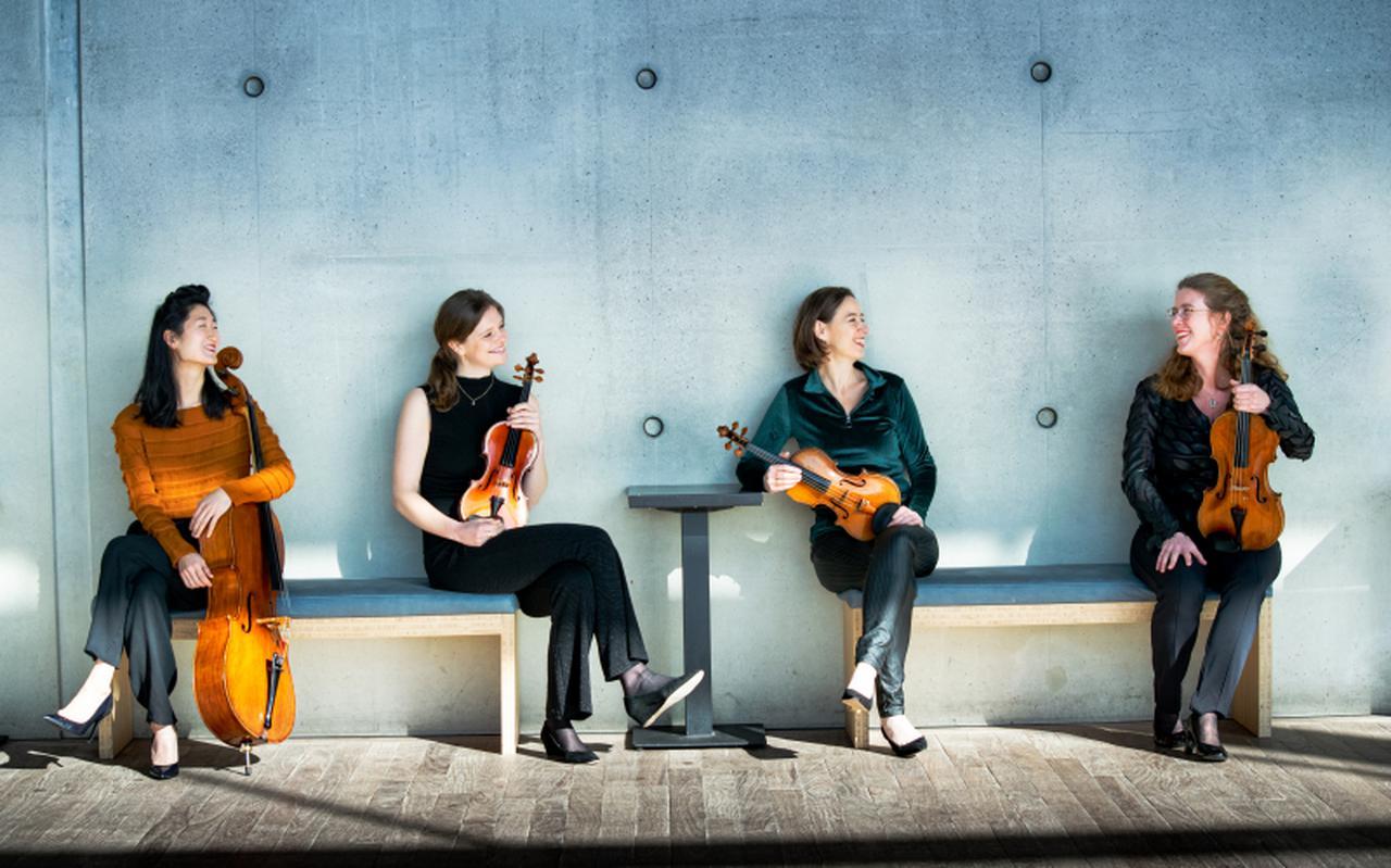 Het Hermitage Kwartet.