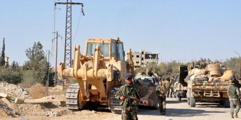 Russisch leger ruimt 1500 mijnen in Palmyra