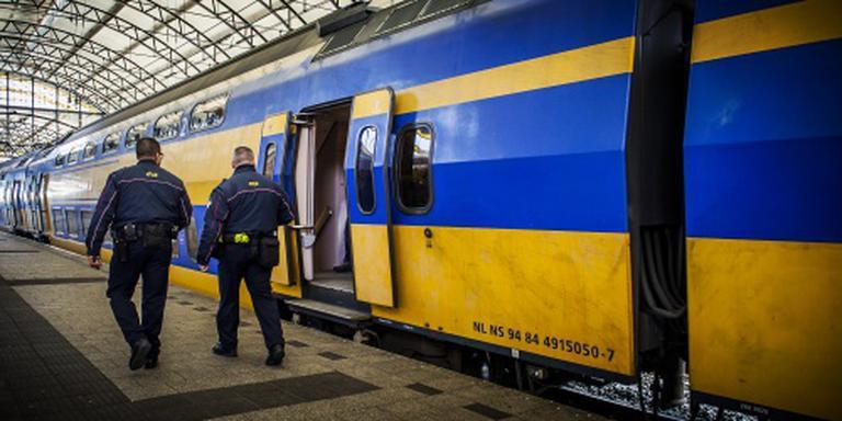 Schoonmakers vaker in de trein