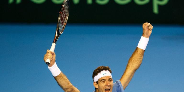 Revanche Del Potro op Murray in Daviscup