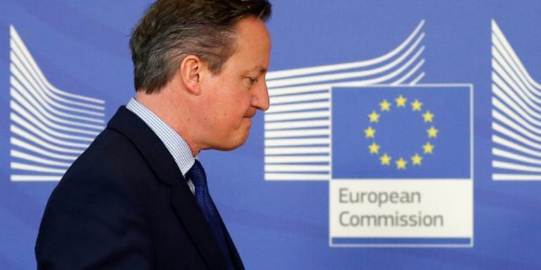 Cameron: EU-voorstel niet goed genoeg