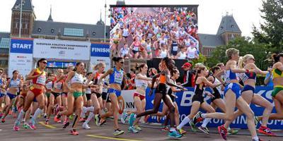 Bekele weer snelste vrouw in Amsterdam